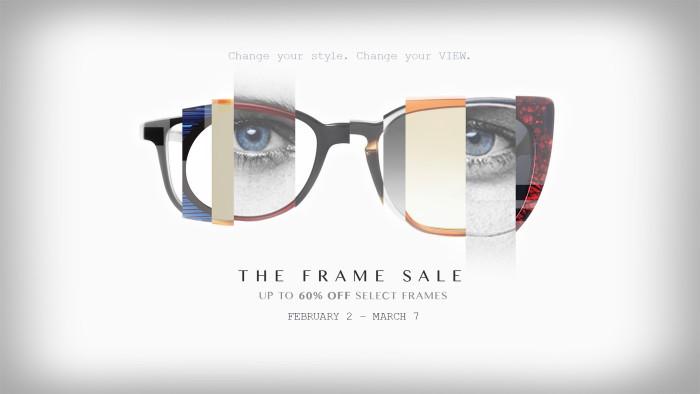 Frame Sale FB post