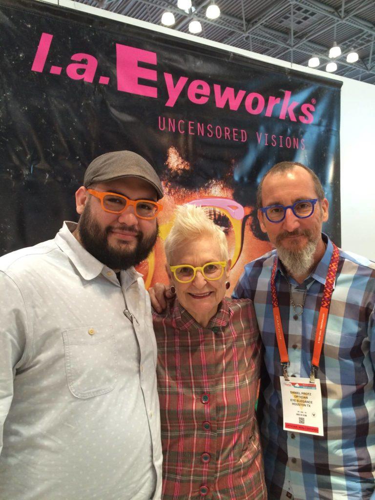 Daniel Protz, Nicholas Protz and LA Eyeworks Co-Owner Gal Gherardi