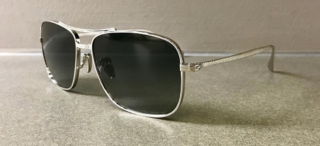 Tom Davies Bespoke Silver Custom Made Sunglasses