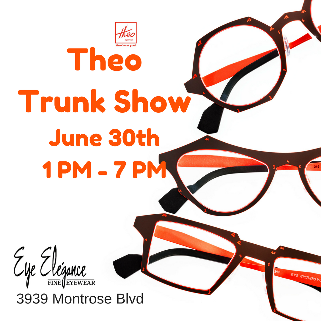 Theo Trunk Show June 30 2017 Montrose Store