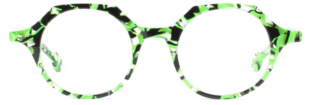 l.a. Eyeworks Quill in Apple Tart Green