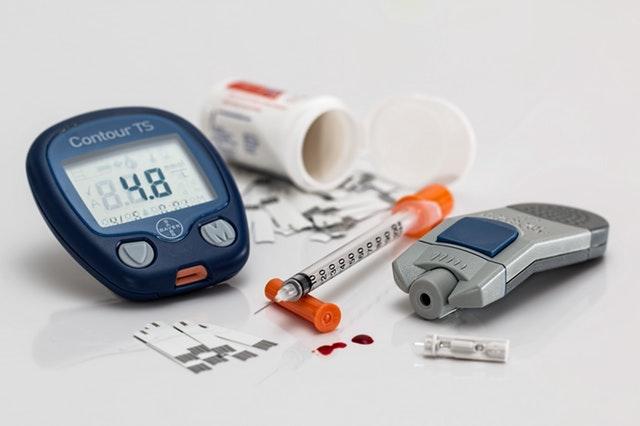 Diabetes affect eye health