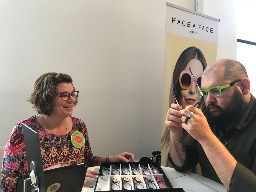 Face-a-Face at Vision Expo East 2018