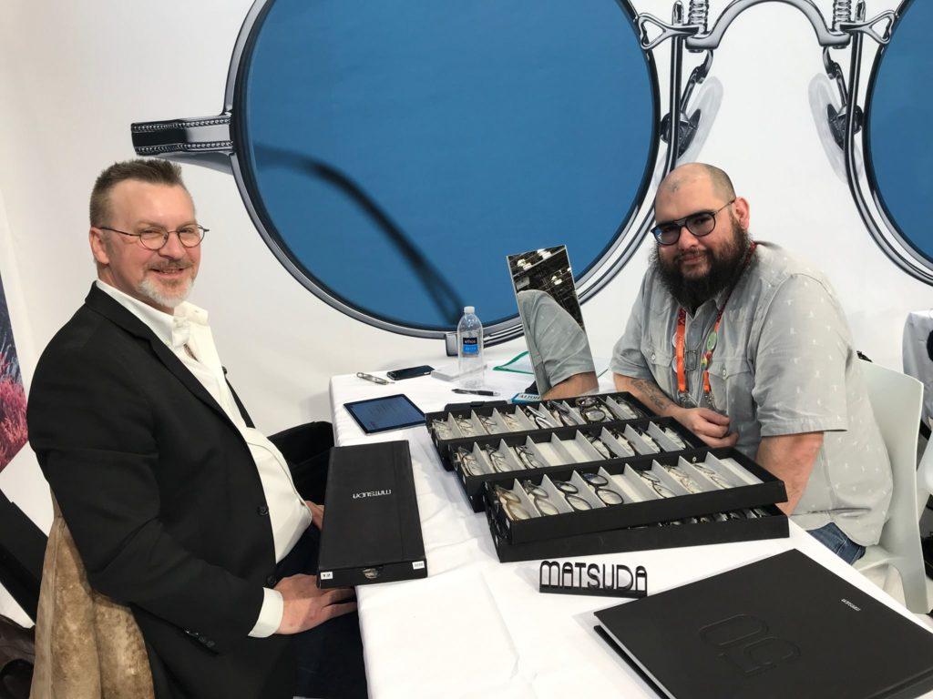 Matsuda Frames 2018 at Vision Expo