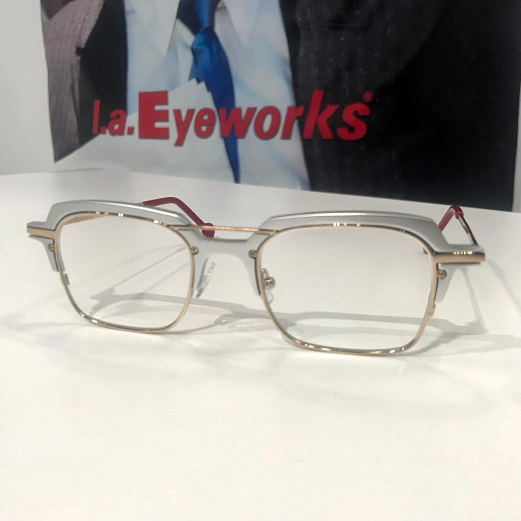 la Eyeworkes frames at Vision Expo