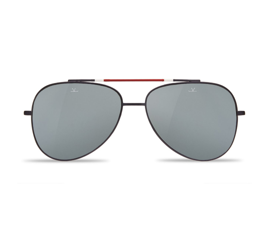 Swing Pilote Sunglasses Flag Front View