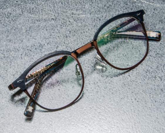 JF Rey Leather Eyewear